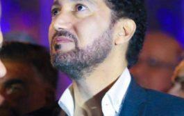 الفنان نصير شمه يتسليم اوراق إعتماد (IFRC) كسفير الهلال والصليب الاحمر الدولي للسلام والنوايا الحسنة. الف مبروك #waterlootimes