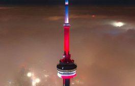 الضباب يغطي تورونتو الان