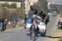 نزوح أكثر من 80 ألف شخص من إدلب إلى الحدود التركية