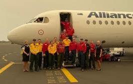 69 كندي يصلون الى استراليا للمساعدة في اخماد حرائق الغابات