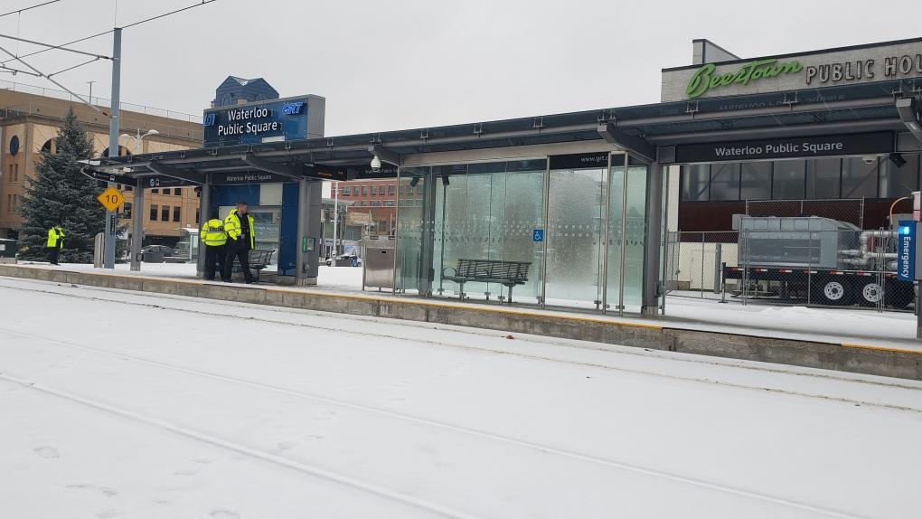 الأمطار المتجمدة في منطقة واترلو تؤدي إلى توقف خدمة القطار الداخلي
