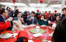 ترودو يحتفل بالسنة الصينية الجديدة (سنة الفئران) في مدينة سكاربورو - اونتاريو