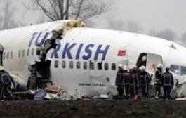 اصابة 52 شخصا بتحطم طائرة ركاب تركية
