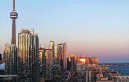 Winter sunsets Toronto