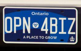 أونتاريو تطرح لوحات جديدة للمركبات