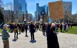 متظاهرون يطالبون حكومة اونتاريو بأعادة فتح الاقتصاد وفورد يصفهم بالمتهورين..!