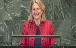 وزيرة خارجية النمسا تشكو زوجها للشرطة بعدما تعدّى عليها بالضرب..!