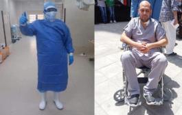طبيب مصري بفقد البصر اثناء علاجه لمرضى