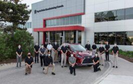 شركة تويوتا كندا تحتفل بتصنيع السيارة رقم 9 مليون في تاريخها