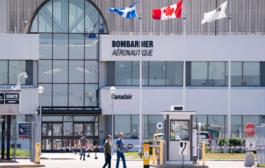 شركة Bombardier الكندية تسرح 2500 عامل بسبب جائحة كورونا
