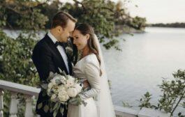أصغر رئيسة وزراء بالعالم تحتفل بزفافها