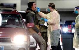 ارتفاع عدد الإصابات بكورونا في الولايات المتحدة