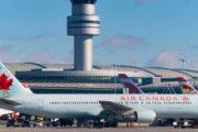 طيران كندا يتكبد خسائر بقيمة 685 مليون دولار بسبب جائحة كورونا
