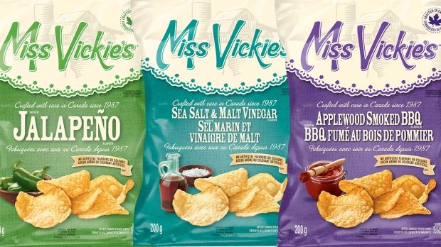 صحة كندا تحذر من استهلاك شيبس Miss Vickie's لاحتوائها على الزجاج