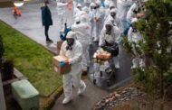 الولايات المتحدة تسجل 210 الف اصابة بكورونا ومايقرب من3000 حالة وفاة خلال 24 ساعة