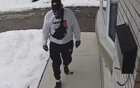 بالفيديو سرقة طرد من امام منزل في واترلو