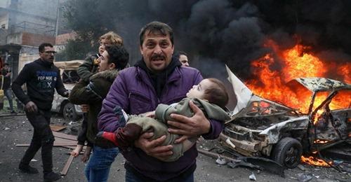 مقتل 11 شخصا في انفجار سيارتين ملغومتين في حلب