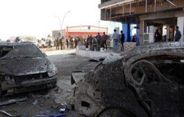 إرهابي بسياة مفخخة ضغط على زمور السيارة لتوديع رفاقه فقتل 21 منهم
