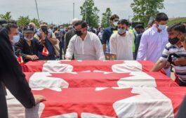 المئات يشاركون في تشييع ضحايا حادثة لندن اونتاريو