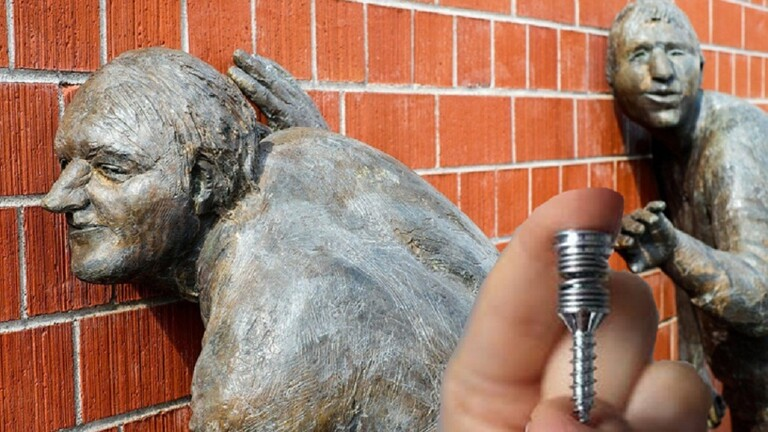 اختراع مسمار لولبي في الجدار يحجب ضوضاء الجيران