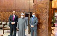 السفير الكندي في القاهرة يلتقي شيخ الأزهر لمناقشة التعاون لمكافحة الإسلاموفوبيا