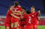 اولمبياد طوكيو... كندا تفوز بالميدالية الذهبية في كرة القدم للسيدات