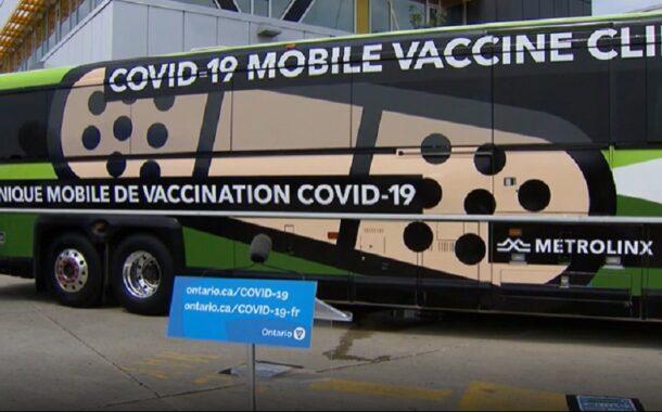 عيادات التطعيم المتنقلة GO-VAXX تحقق إنجازًا كبيرا